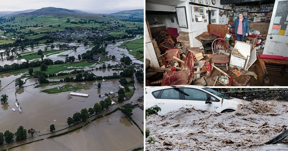 Richmondshire floods 2